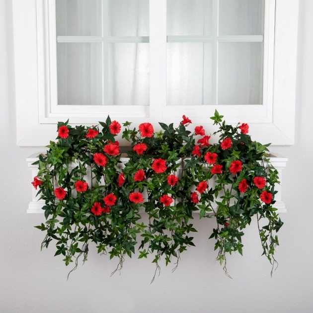 Most Creative Artificial Hanging Plants For Outside Image