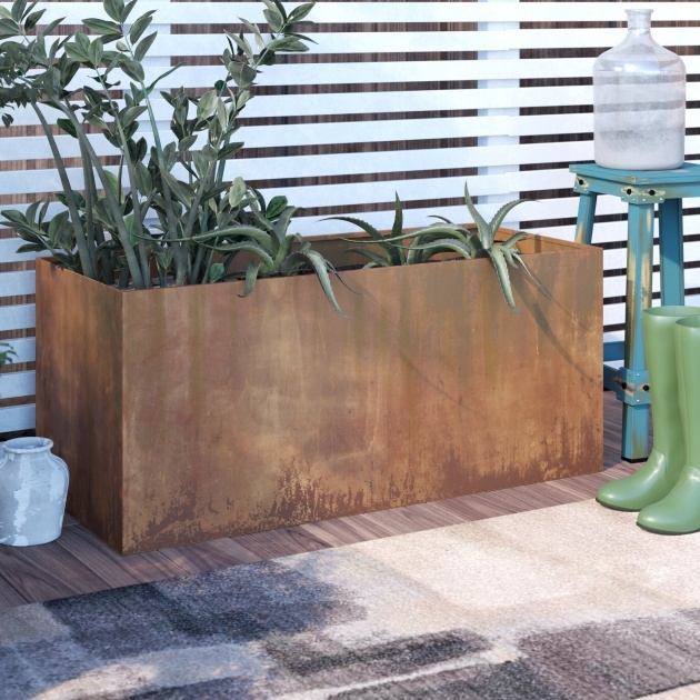 Most Creative Corten Steel Planters Image