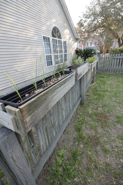 Most Creative Fence Hanging Planters Image
