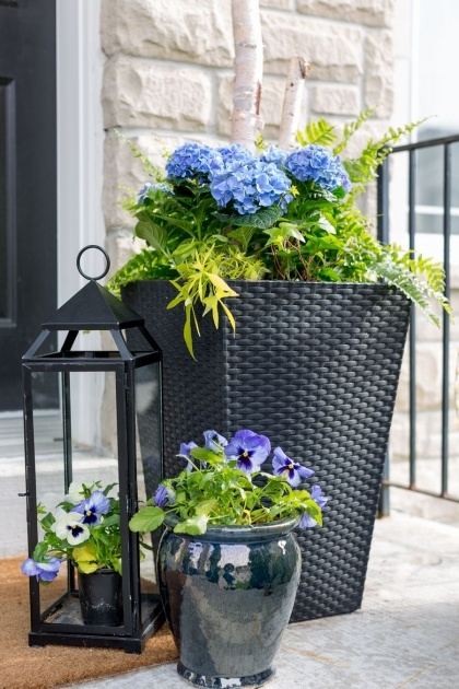 Most Creative Front Porch Planters Photo