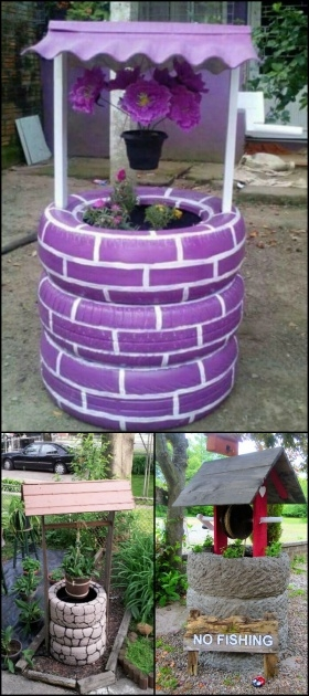 Most Creative How To Make Tire Planters Photo