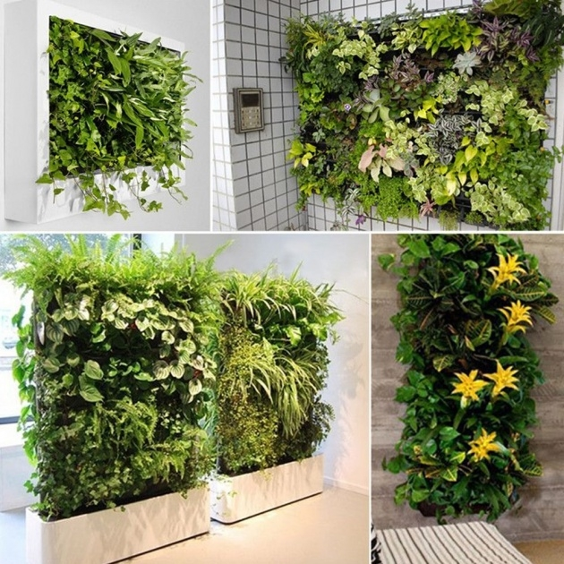 Most Creative Large Outdoor Wall Planters Picture