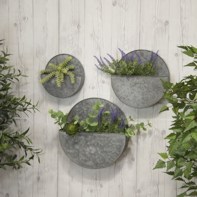 Most Creative Metal Wall Planters Photo