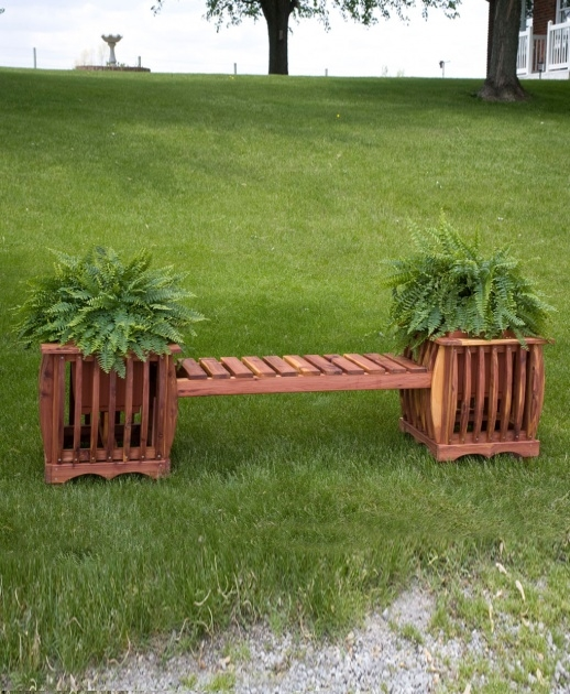 Most Creative Planter Bench Picture