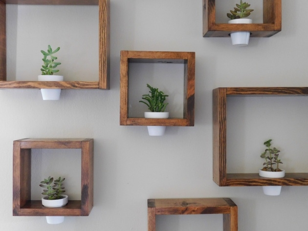 Most Creative Wooden Wall Planter Image