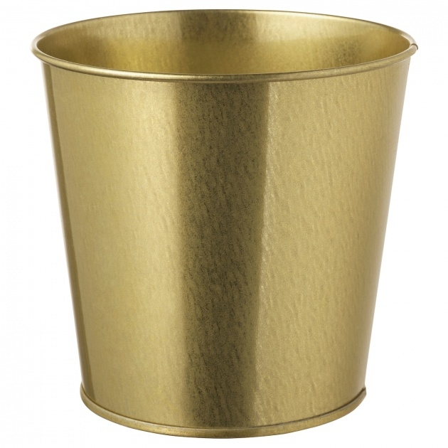 Most Perfect Brass Plant Pot Image