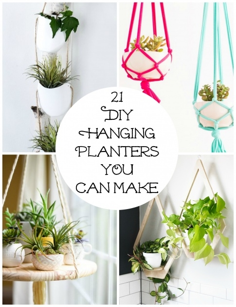 Most Perfect Diy Hanging Planter Photo