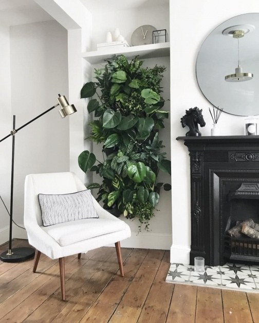 Most Perfect Diy Indoor Plant Wall Photo