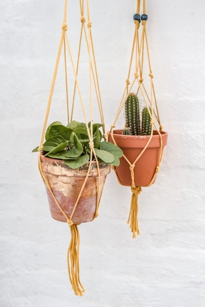 Most Perfect How To Make A Plant Hanger Photo