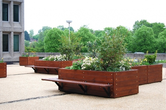 Most Perfect Street Furniture Planters Image