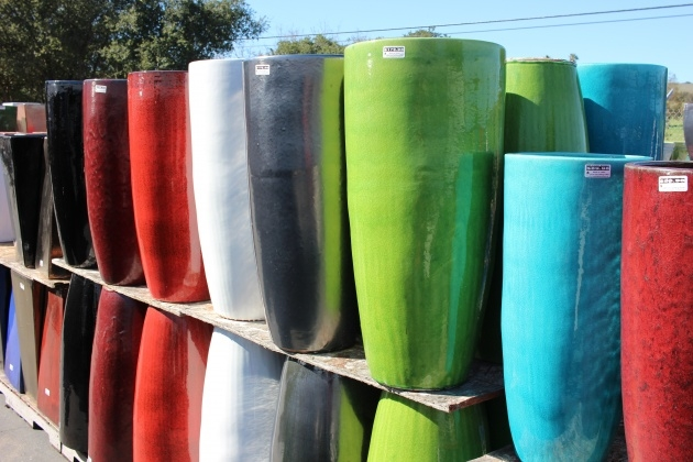 Most Perfect Tall Ceramic Outdoor Planters And Urns Usa Photo