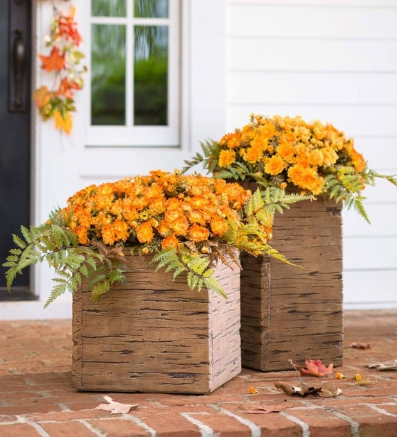 Most Perfect Wooden Crate Planter Picture