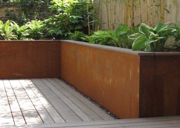 Most Popular Corten Steel Planters Picture