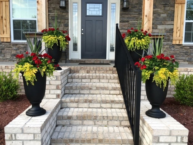 Most Popular Front Porch Planters Picture