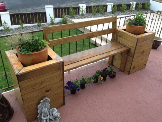 Most Popular Planter Box Bench Seat Picture