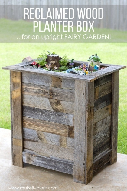 Most Popular Wooden Planter Box Diy Picture