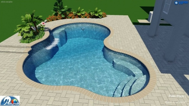 Outstanding Swimming Pool Planters Picture