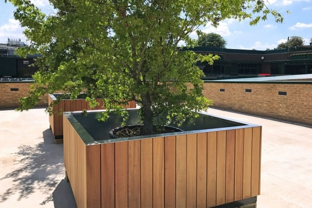 Outstanding Tree Planter Box Photo