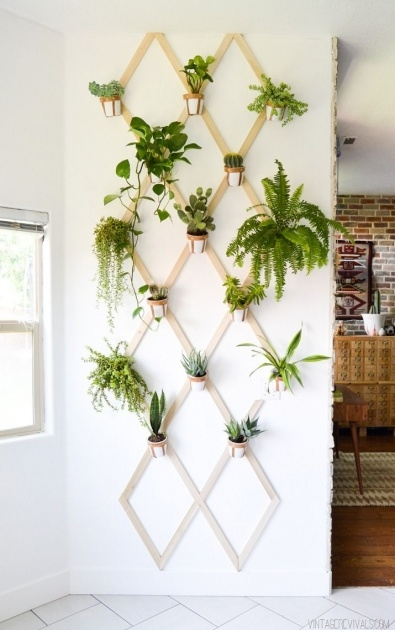 Perfect Diy Indoor Plant Wall Picture