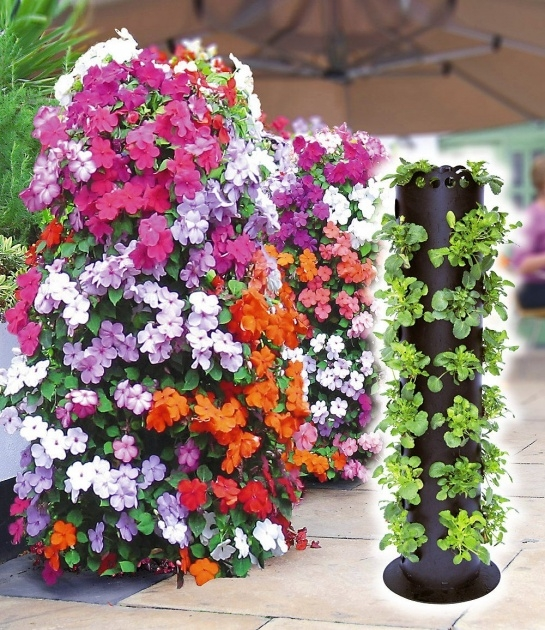 Perfect Flower Tower Planter Photo