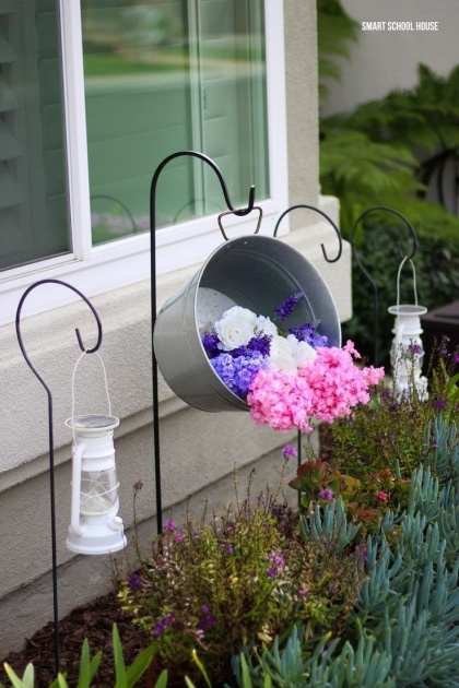 Perfect Galvanized Tub Planter Picture