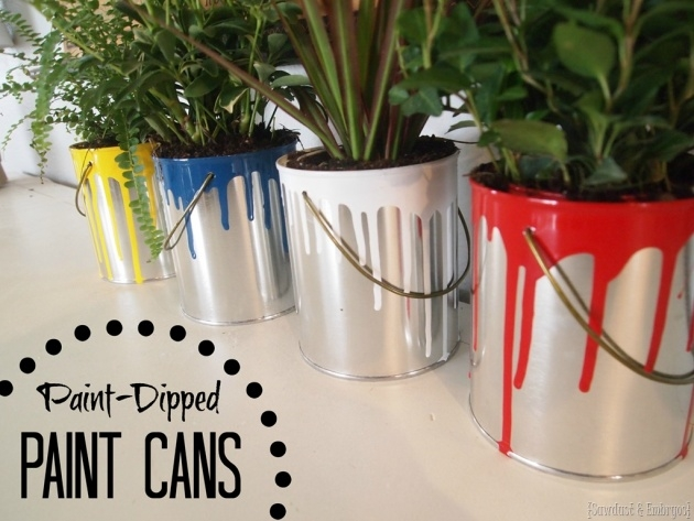 Perfect Paint Can Planter Photo