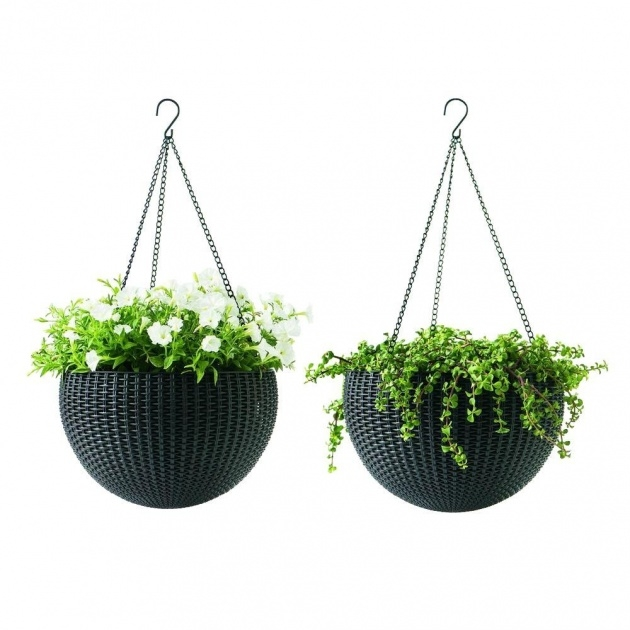 Perfect Plastic Hanging Planters Photo