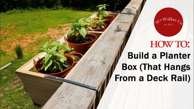 Perfect Railing Planter Box Photo