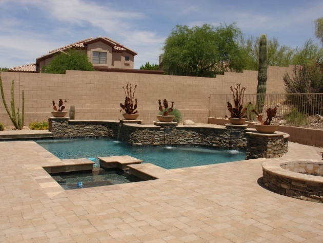 Perfect Swimming Pool Planters Picture