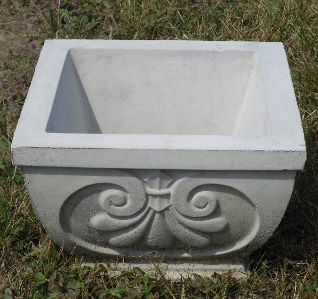 Popular Concrete Outdoor Planters Photo