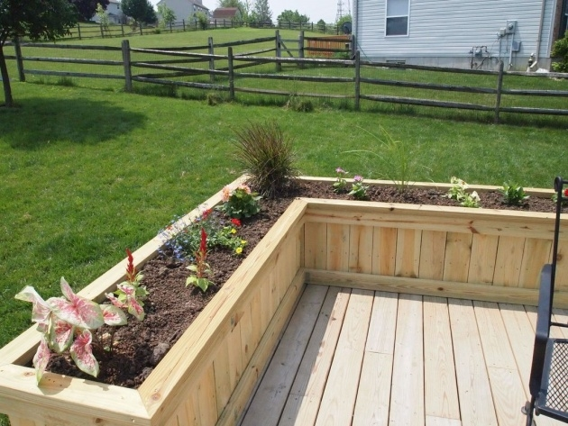 Popular Deck Planter Boxes Photo
