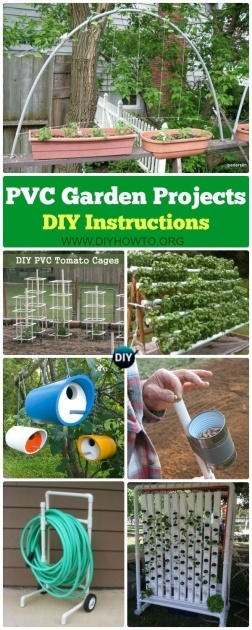 Popular Diy Pvc Planter Image