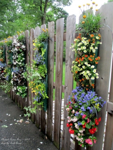 Popular Fence Hanging Planters Image