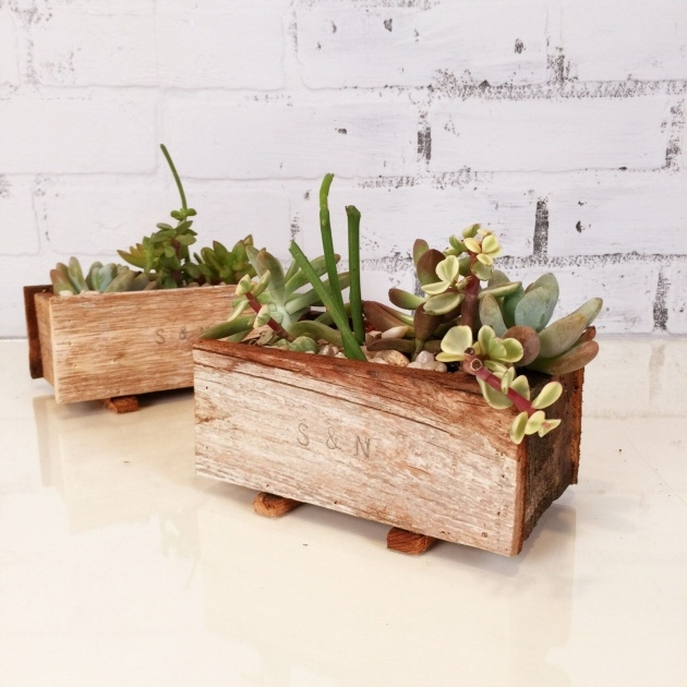 Popular Small Wooden Planters Image