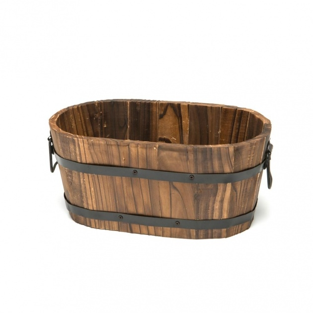 Popular Small Wooden Planters Picture