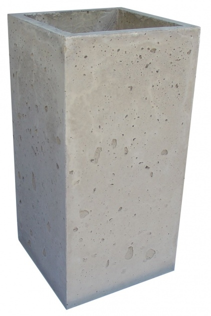 Popular Tall Concrete Planters Image