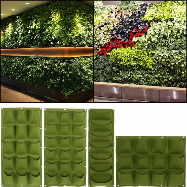 Popular Vertical Wall Planter Indoor Image
