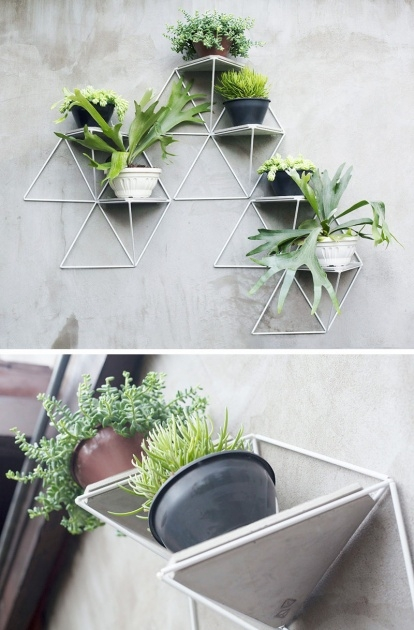 Popular Wall Mounted Planters Indoor Photo
