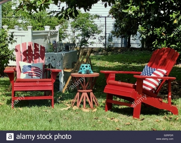 Remarkable Adirondack Chair Front Yard Image