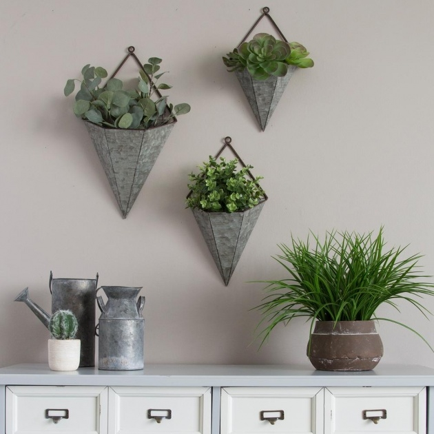 Remarkable Metal Wall Planters Photo