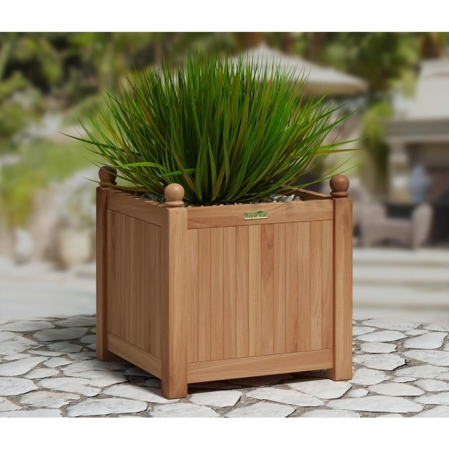 Remarkable Outdoor Planter Image