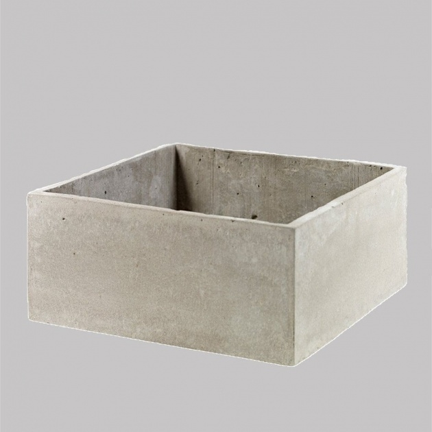 Remarkable Square Concrete Planter Image