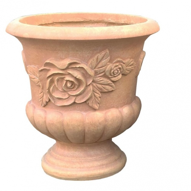 Remarkable Tall Ceramic Outdoor Planters And Urns Usa Photo