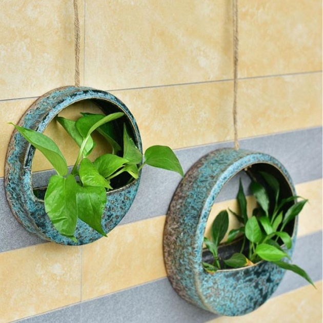 Remarkable Wall Hanging Planters Photo