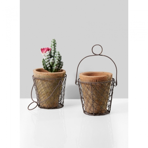 Remarkable Wire Planter Basket Photo