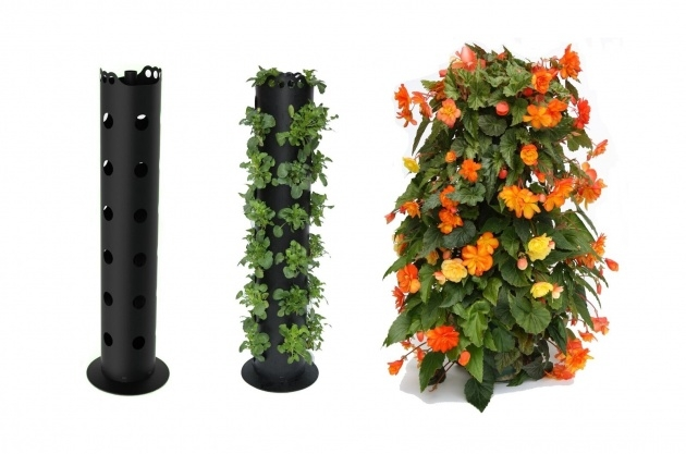 Sensational Flower Tower Planter Image