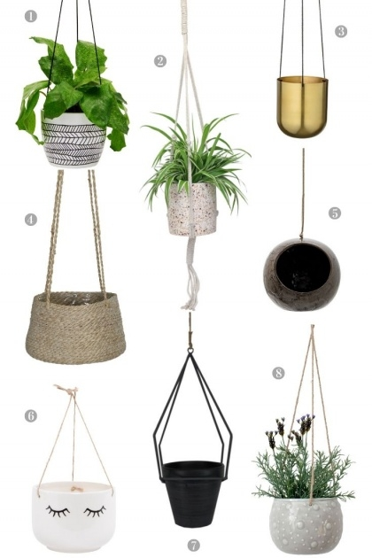 Sensational Hanging Plant Holders Picture