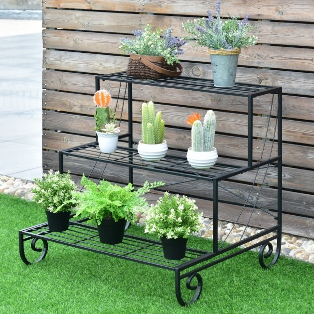 Sensational Outdoor Plant Stand Picture