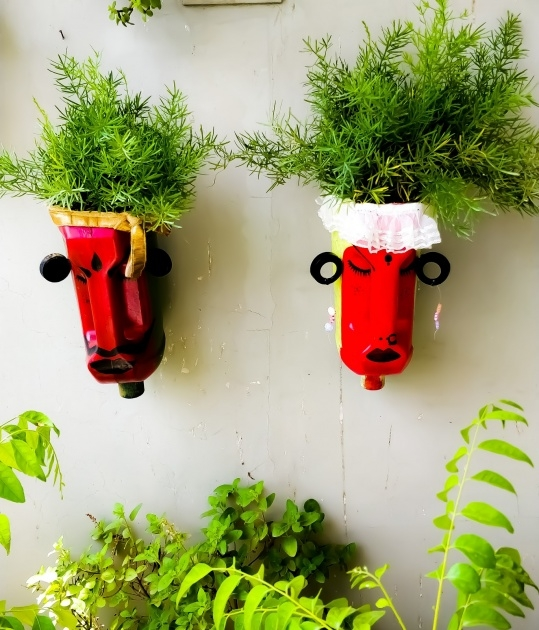 Sensational Recycled Plastic Planters Photo