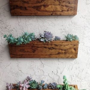 Wall Mounted Planter Boxes